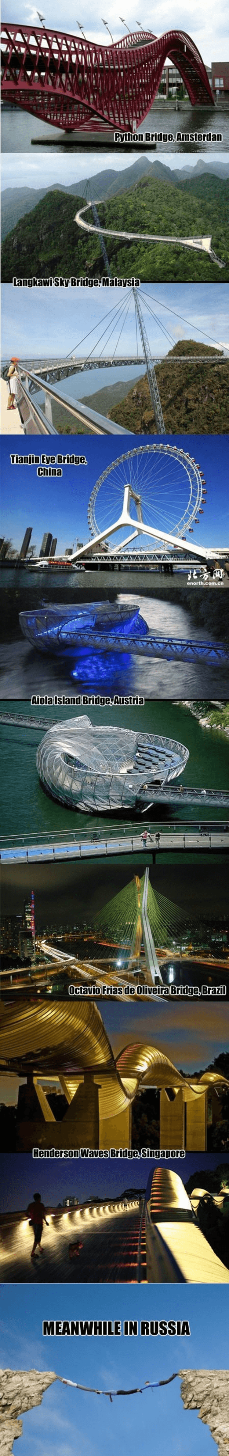 strange bridges from around the world owned com