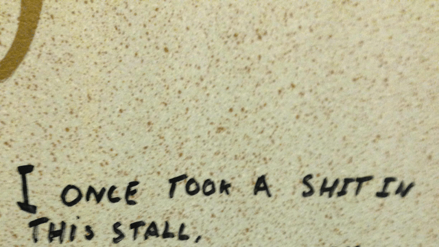 Bathroom poetry. | Owned.com