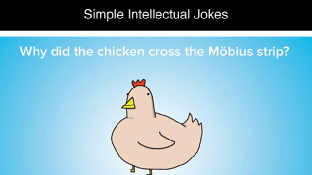 simple intellectual jokes owned